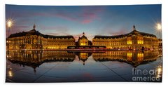 Bordeaux Reflections Hand Towel