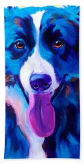 Border Collie - Jinx Hand Towel