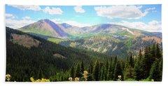 Boreas Pass Colorado Bath Towel