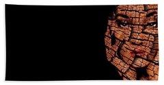 Bath Towel featuring the digital art Bored Stiff by ISAW Company