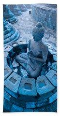 Borobudur Temple Bath Towel
