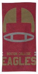 Boston College Eagles Vintage Football Art Hand Towel