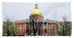 Massachusetts State House Bath Towel