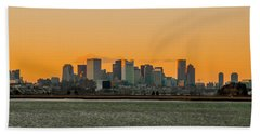 Boston Sunset Bath Towel