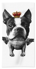 Boston Terrier, The King Bath Towel