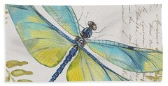 Botanical Dragonfly-jp3423b Bath Towel