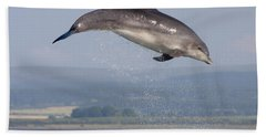 Bottlenose Dolphin - Scotland #3 Bath Towel