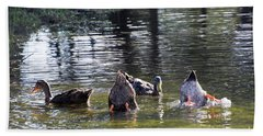 Bath Towel featuring the photograph Bottoms Up by Cheryl McClure