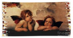 Bouguereau Painting Fresh Paint  Bath Towel by Catherine Lott