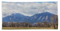 Bath Towel featuring the photograph Boulder Colorado Prairie Dog View  by James BO Insogna