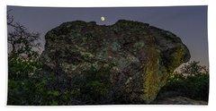 Boulder Moonrise Hand Towel