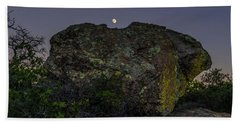 Boulder Moonrise Bath Towel