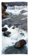 Boulders In The Rapids Hand Towel