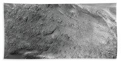 Boulders On A Martian Landslide Hand Towel