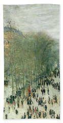 Boulevard Paintings Bath Towels