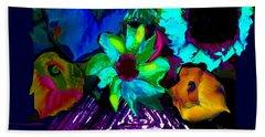 Bouquet In Fauve Hand Towel