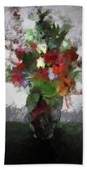 Bouquet Of Flowers Hand Towel
