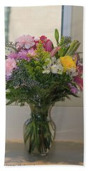 Bouquet Of Flowers Hand Towel