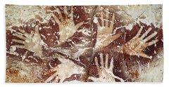 Bouquet Of Hands - Ilas Kenceng Bath Towel