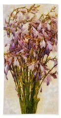 Bouquet Of Hostas Bath Towel