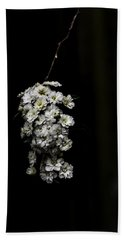 Bath Towel featuring the photograph Bouquet Of White by Chris Coffee
