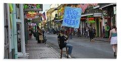 Bourbon Street - Huge Ass Beers Bath Towel