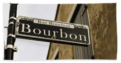 Bourbon Street, New Orleans, Louisiana Bath Towel