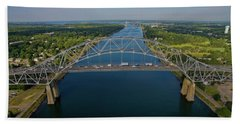 Bourne Bridge, Ma Hand Towel