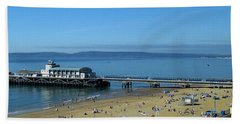 Bournemouth Pier Dorset - May 2010 Bath Towel