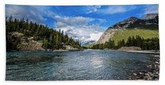 Bow River Alberta Bath Towel