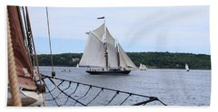 Bowditch Under Full Sail Hand Towel