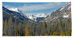 Bowen Mountain In Winter Hand Towel