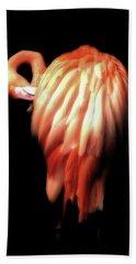 Bowie Flamingo Hand Towel
