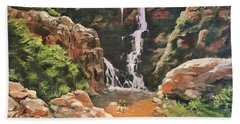 Box Canyon  Hand Towel