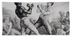 Boxers Hand Towel
