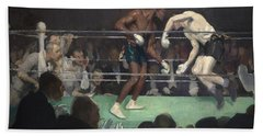Boxing Match Hand Towel