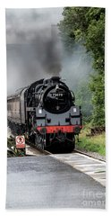 Br Std Class 75078 Bath Towel by David  Hollingworth