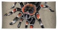 Brachypelma Smithi  Mexican Red Knee Tarantula Hand Towel