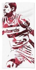 Bradley Beal Washington Wizards Pixel Art 3 Hand Towel