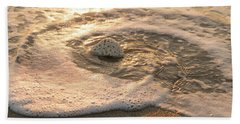 Brain Coral Swirl Delray Beach Florida Bath Towel