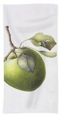 Bramley Apple Hand Towel by Margaret Ann Eden