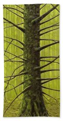 Branch Monster Hand Towel