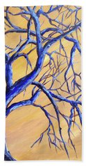 Branches Of Blue Bath Towel