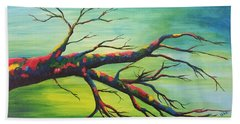Branching Out In Color Hand Towel
