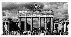 Brandenburg Gate Hand Towel