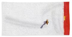 Brass Water Spicket Bath Towel
