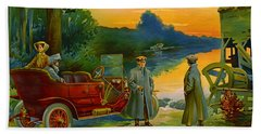 Brave New World 1910 Bath Towel by Padre Art