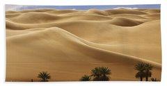 Breathtaking Sand Dunes Bath Towel
