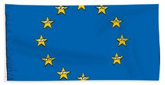 Brexit Eu Flag  Bath Towel