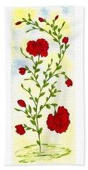 Briar Rose Hand Towel